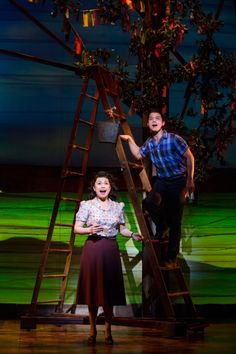 Lea Salonga and Telly Leung from Allegiance