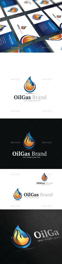 Oil Gas - Logo Design Template Vector #logotype Download it here: http://graphicriver.net/item/oil-gas-logo-template/9258914?s_rank=823?ref=nexion