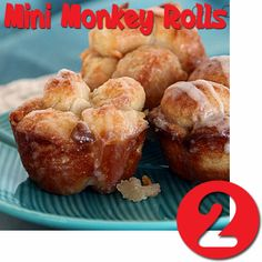 Try Rhodes Best of 2013 recipes!  Anything MINI is GRAND,  Try Rhodes Mini Monkey Rolls.  Fun for many occasion!.