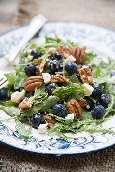 Let's Party: Blueberry Arugula Salad | BHG Delish Dish: