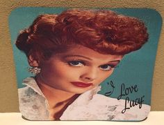 I LOVE LUCY CLASSIC Large Multi-Color Pictorial Anti Slip PC Gamer Mouse Pad #PHATGraphix