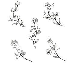Embroidery designs from botanical images. Only pictures. No link available. jwt - Galena U. Mini Tattoos - diy tattoo image - Embroidery designs from botanical images. Only pictures. No link available. Mini Tattoos, Small Tattoos, Small Flower Tattoos, Hand Embroidery Patterns Free, Embroidery Flowers Pattern, Embroidery Designs, Diy Tattoo, Tattoo Ideas, Tatuagem Diy