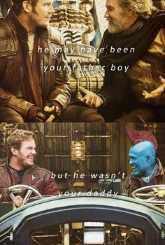 Most touching line in the whole movie. R.I.P. Yondu. You will forever be in our hearts