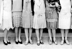 Какие туфли и чулки носили модницы в 1920-е годы (18 фото)