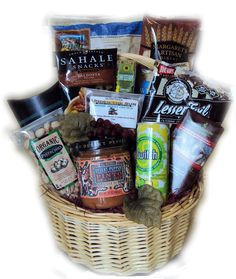 Healthy Birthday for Him Basket  sc 1 st  Pinterest & 17 Best Healthy Gift Basket for Birthdays images | Food gift baskets ...