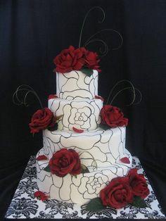 hand painted wedding cakes | visit cakesdecor com