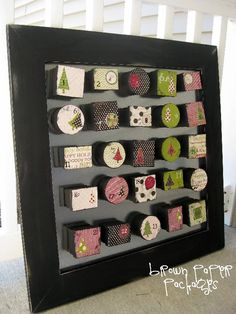Last year, when a friend of mine and her sister made the most adorable advent calendars, I knew it was…