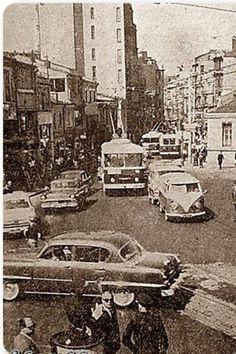 İstanbul'un eski fotoğrafları - İstiklal Caddesi 1960'lar