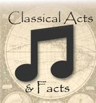 Classical Conversations  Acts and Facts History Songs