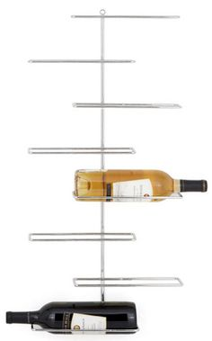 a cool way to make bottles of wine into ART on the wall!  (Urban Barn $50)