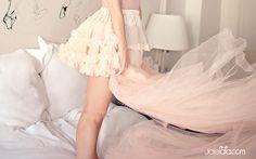tulle, ruffles, pink, skirt, american apparel, blush, girly, flirty, boudoir