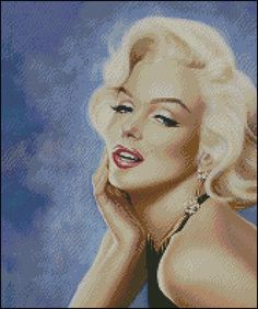 Patrón en punto de cruz de Marilyn Monroe Marilyn Monroe Dibujo, Marilyn Monroe Drawing, Marilyn Monroe Artwork, Pin Up, Norma Jeane, Artist At Work, Retro, Female Art, Art Girl