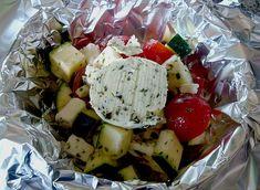 Gemüsepäckchen für den Grill 1