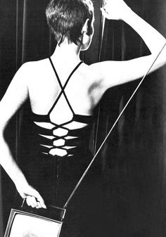 Grace Coddington by David Bailey, 1968.