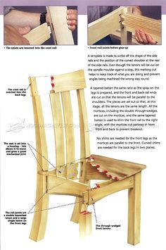 Breakfast Chair Plans - Furniture Plans