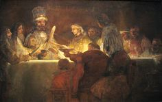 Rembrandt,  De samenzwering van de Bataven onder Claudius Civilis.