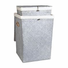 Gray Laundry Basket   ZARA HOME United States of America