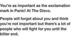 This uplifts me and I'm not even a big fan on Panic! At The Disco Emo Bands, Music Bands, Brendon Urie, Band Memes, Panic! At The Disco, Pierce The Veil, Pop Punk, Paramore, Fall Out Boy