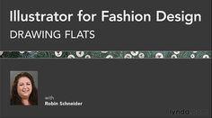 Lynda - Illustrator for Fashion Design: Drawing Flats  http://tutdownload.com/all-tutorials/design/illustrator/lynda-illustrator-for-fashion-design-drawing-flats/