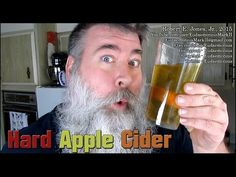 How To Make HARD APPLE CIDER - Day - I love listening to his channel and getting ideas for using crops for beverages during the winter months Hard Apple Cider, Brew Your Own, Homebrew Recipes, Home Brewing, Beer, Wine, Winter Months, Youtube, Beverages