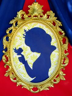 Snow White Party SILHOUETTE Disney Princes by KROWNKREATIONS