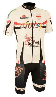 Tenues vélo équipes Bicycle Line