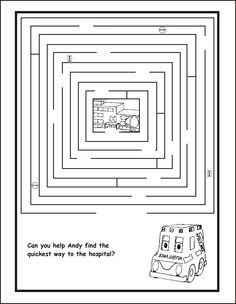 ambulance coloring pages to view the larger version click on each of the images
