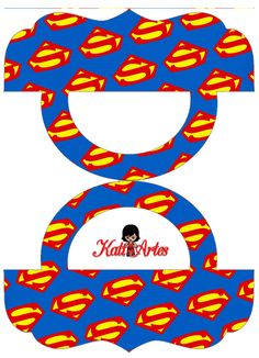 Superheroes Pretty Candy Bag Free Printable Labels.