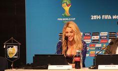 LAS CADERAS TABASCO: Shakira promete un cierre vibrante de la Copa Mund...