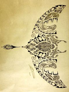 polynesian shark | Polynesian Manta Ray/Turtle by A18cey on deviantART