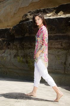 Johnny Was Clothing Summer 2015 Lookbook featuring the Lamb Tunic