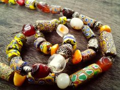 Beads, beads and beads! At Ezile Bay #Ghana