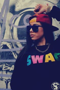 sexy chick in cap .... #swag