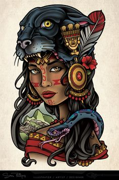 This is a side (torso) tattoo I designed for Heather Lynn. Puma, Pather Inca Gir… This is a side (torso) tattoo I designed for Heather Lynn. Copyright www. Torso Tattoos, Side Tattoos, Tattoo Drawings, Body Art Tattoos, Sleeve Tattoos, Henna Tattoos, Jaguar Tattoo, Tattoo Girls, Inka Tattoo