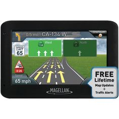 MAGELLAN RM2535SGLUC RoadMate(R) 2535T-LM 4.3 GPS Device with Free Lifetime Maps & Traffic Updates