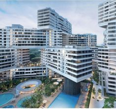 The Interlace - OMA architects