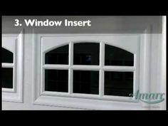 Amarr Garage Door Windows. To view window options on various doors, visit www.amarr.com.