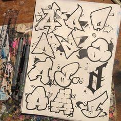 S A Alphabet Wallpaper Graffiti Designs, Graffiti Art, Graffiti Words, Graffiti Drawing, Graffiti Styles, Graffiti Lettering Alphabet, Tattoo Lettering Fonts, Grafitti Alphabet, Calligraphy Alphabet