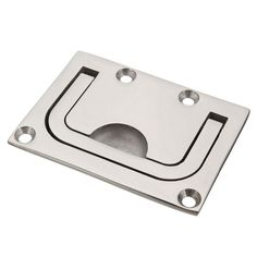 2PCS/Lot Boat Hatch Locker Lift / Pull Ring Handle 316 Marine Stainless Steel