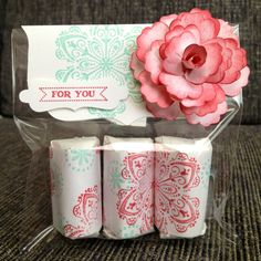 Stampin'up party gift
