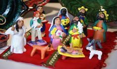 Josefina Aguilar Nativity Set
