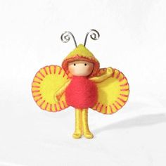 Pink Pineapple Bug by dreamalittle7 on Etsy