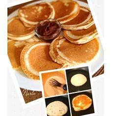 WEBSTA @ nurlu - Günaydınnnn✨✨✨En keyifli Pazarlarr✨✨Pazar kahvaltıları özeldir!! Kahvaltı sofralarınız için nefis bir pancake tarifim var..✨Tarif Martha Stewart'tan..1 büyük boy yumurta1,5 yemek  k.şeker1/2 Çay k.tuz2çay k.kabartmatozu2yemek kaşığı eritilmiş tereyağ veya margarin1cup elenmiş un1cup süt1yemek k.sıvıyağ(pancakeleri pişirmek için)✨Sütle yumurtayı iyice çırpın .Daha sonra içine sırayla tereyağı ve kuru malzemeleri ekleyip,iyice karıştırın.✨Tavanızı ısıtıp,hafifçe yağlayın ve…