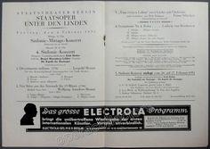 """""""Vom Ewigen Leben"""" songs with Orchester by Schreker - World Premiere 1931"""