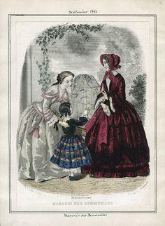 Magasin des Demoiselles, September 1852