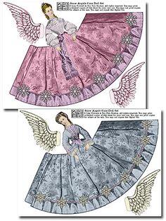 paper cut angels
