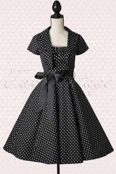 http://topvintage.net/en/vintage-retro/50s-jolie-small-dot-bolero-swing-dress-in-black-and-white