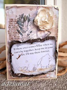 (adzia) mary czary: Craft Szafa - niestety ostatnia pożegnalna kartka