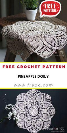 Free Crochet Doily Patterns, Crochet Snowflake Pattern, Crochet Stitches Free, Granny Square Crochet Pattern, Thread Crochet, Easy Crochet, Crochet Things, Filet Crochet, Crochet Ideas