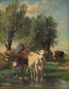 Women Painters - Marie Dieterle Van Marcke De Lummen (French, 1856...